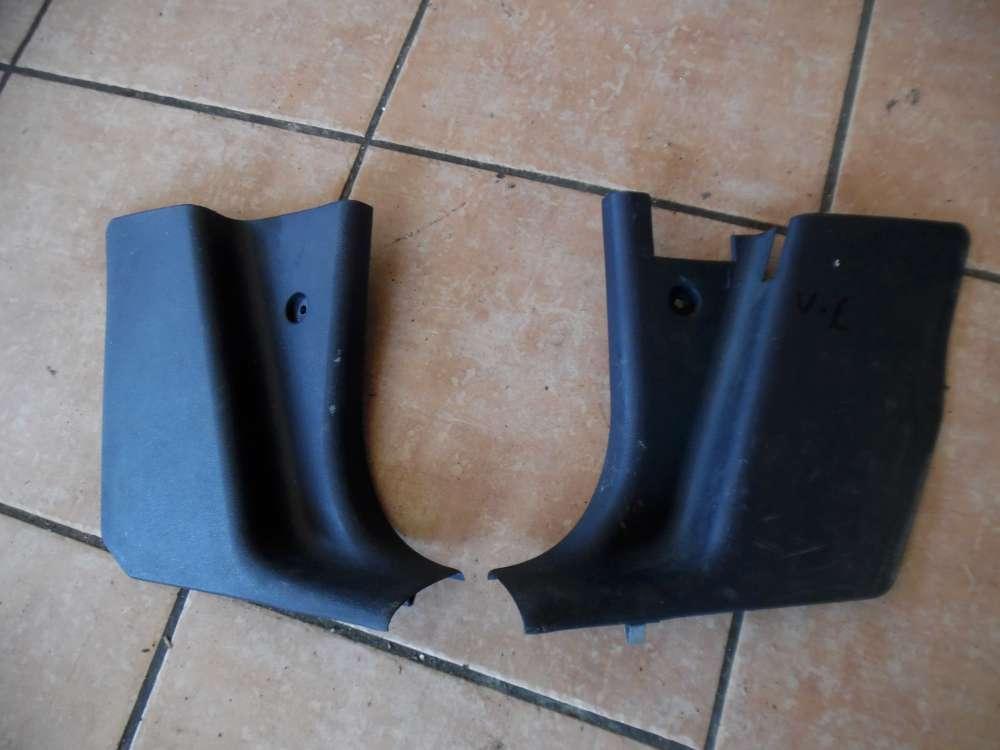 Audi A3 8L A-Säule Verkleidung Unten Dunkelblau Re / Li 8L1867458 - 8L1867457