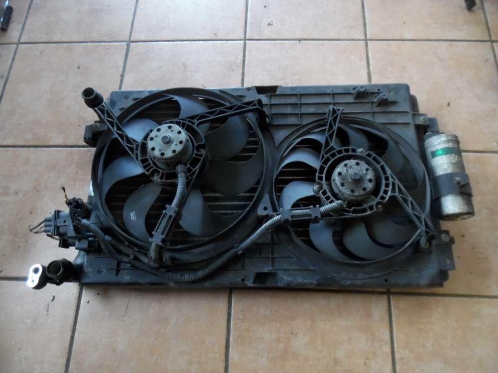 Audi A3 8L Motorlüfter Elektrolüfter mit Wasserkühler 1J0121253N 1J0121207M
