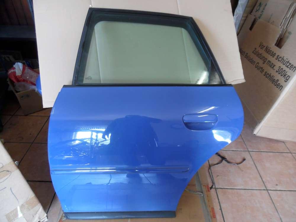 Audi A3 8L Tür Hinten Links Blau Farbcod : LY5M