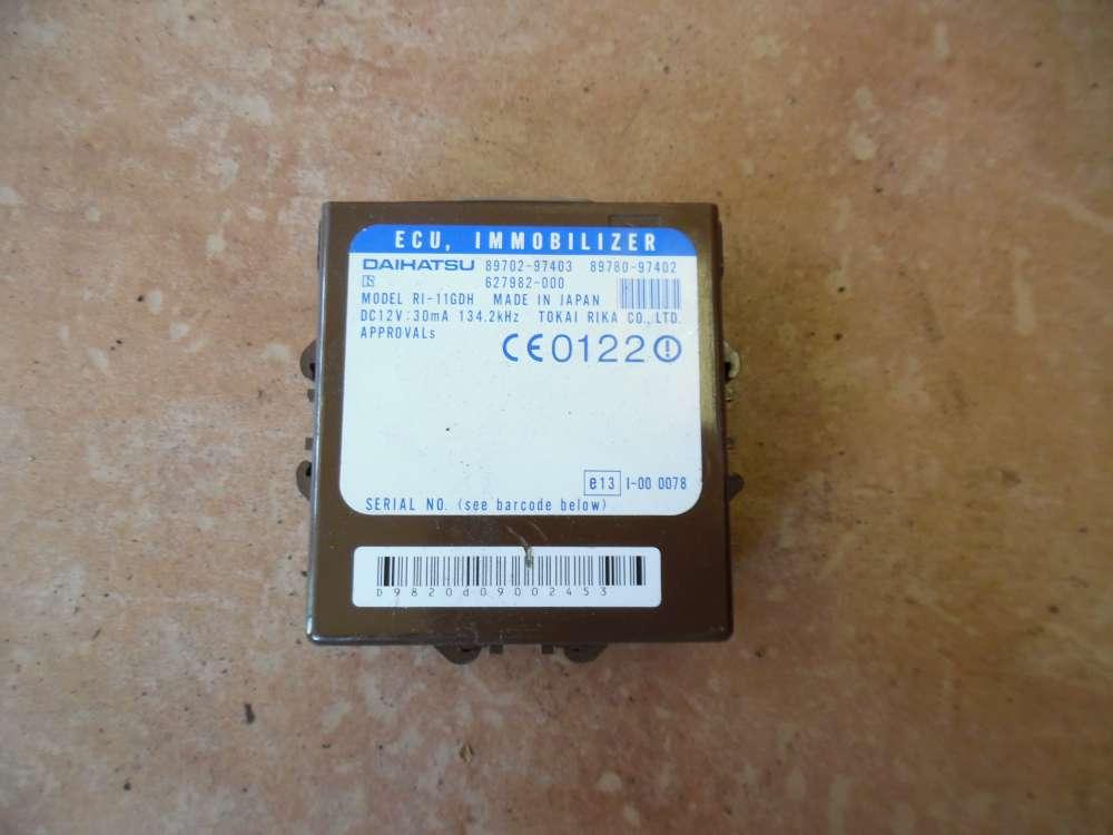 Daihatsu YRV Steuergerät 89702-97403 / 89702-97402
