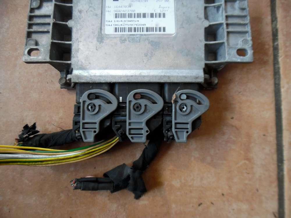Peugeot 206 Motorsteuergerät 9642597680 9642423780