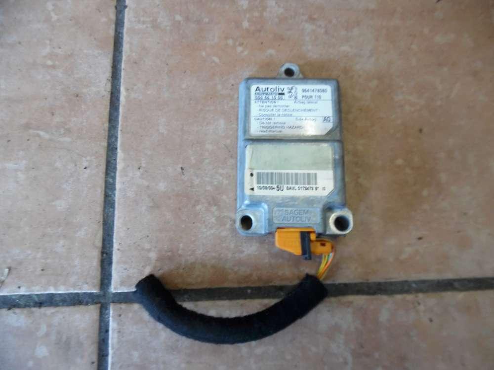 Peugeot 206 Airbagsteuergerät Side 9641478080