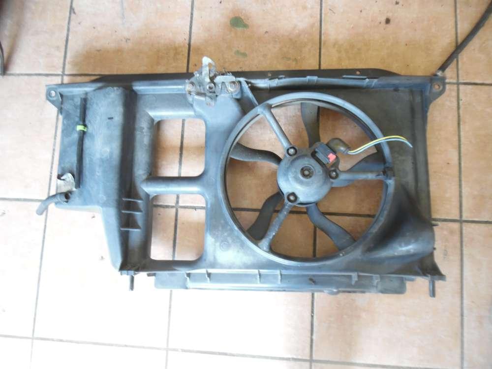 Peugeot 206 Kühlerlüfter Schloßträger Frontmaske 9631006480