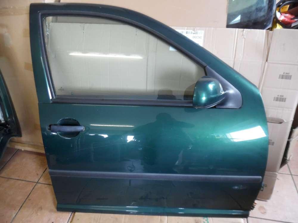 VW Golf  IV Tür Vorne Rechts grün metallic Farbcod: LC6M