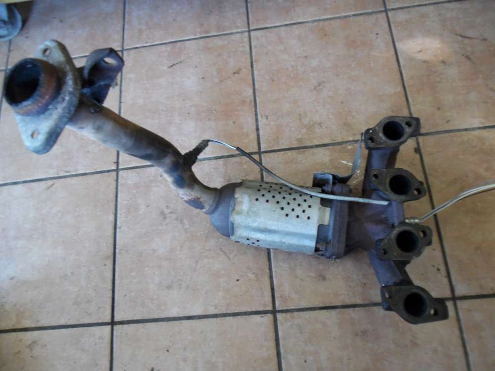 Peugeot 206 Katalysator Abgaskrümmer Krümmer