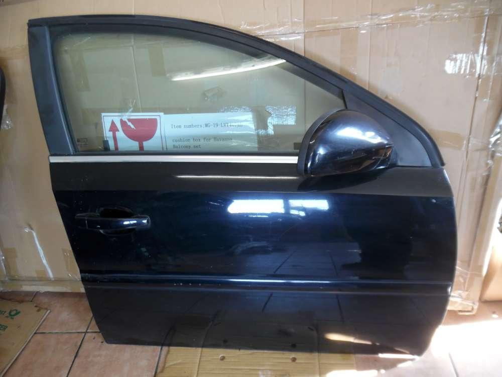 Opel Vectra C Signum Tür Vorne Rechts schwarz Farbcod : Z20R