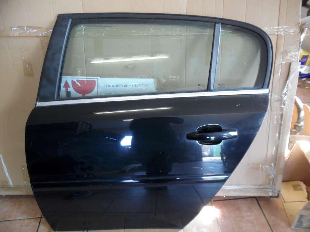 Opel Vectra C Signum Tür Hinten Links schwarz Farbcod : Z20R