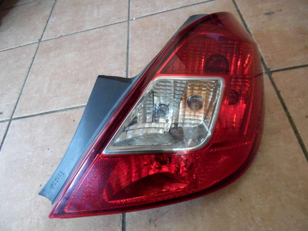 Opel Corsa D Rückleuchte Rücklicht Rechts 89037887