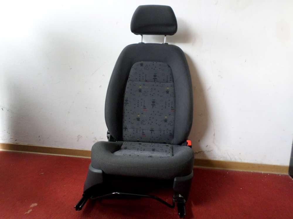 Skoda Fabia 6Y2 Bj.2002 Beifahrersitz vorne rechts  4/5 türig , ohne Airbag , Stoff