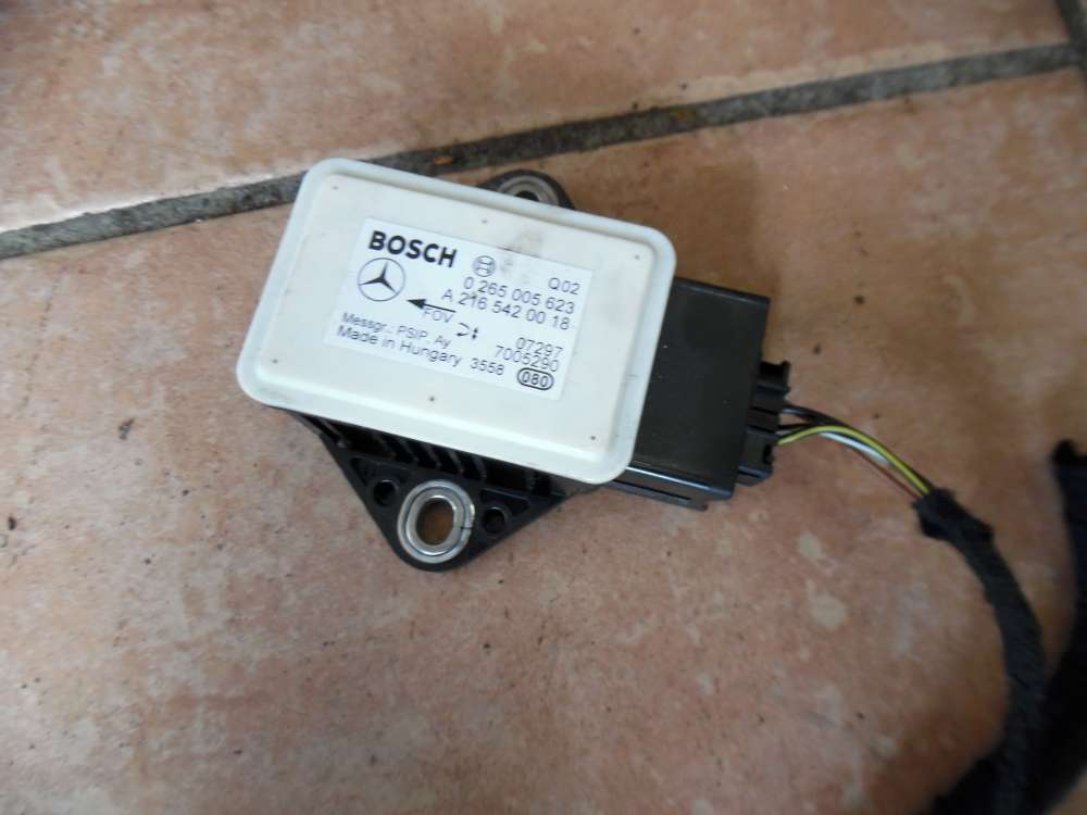 Mercedes A-Klasse W169 Drehratensensor Sensor A2165420018
