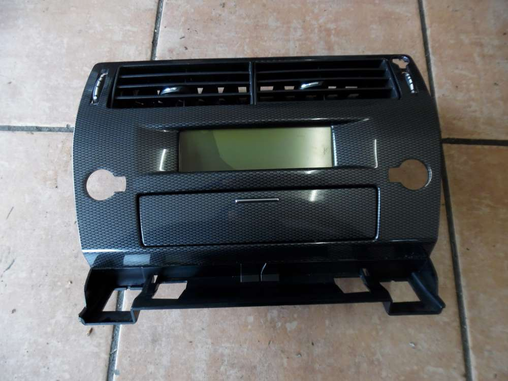Display Citroën C4 Display Boardcomputer mit Luftdüse 9646338277 9657882880