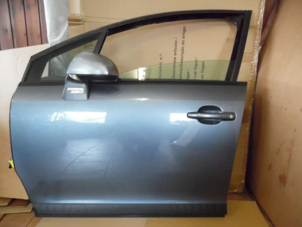 Citroën C4 Tür Vorne Links Eisengrau-Metallic Farbcod : EZW