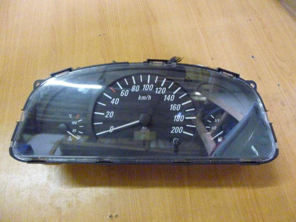 Opel Agila A Tachometer Kombiinstrument Tacho 196000KM  09214268