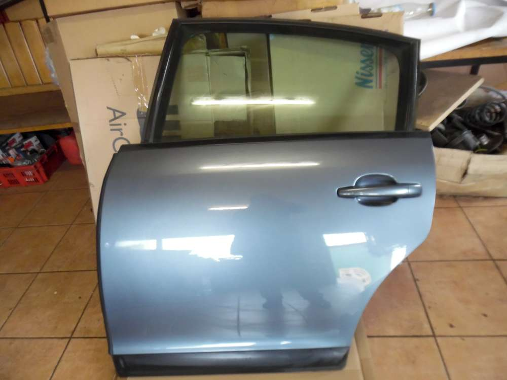 Citroën C4 Tür Hinten Links Eisengrau-Metallic Farbcod : EZW