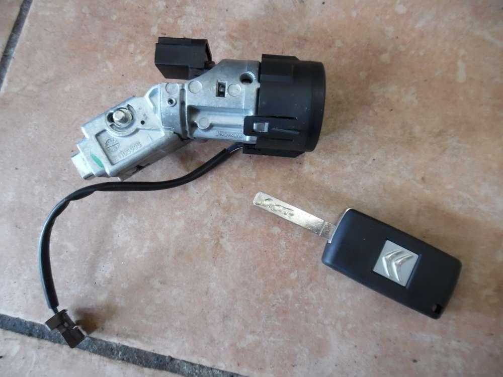 Citroën C4 Zündschloss mit Schlüssel 9663123380