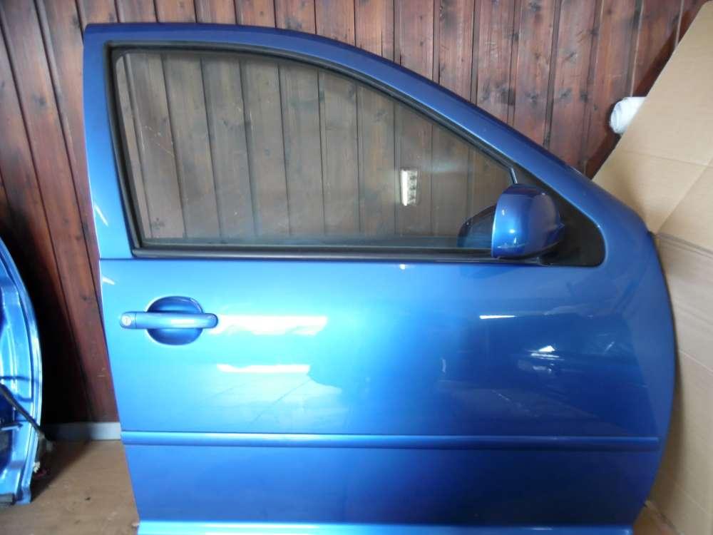VW Golf IV 1J Tür Vorne Rechts Blau Farbcod : LW5Y