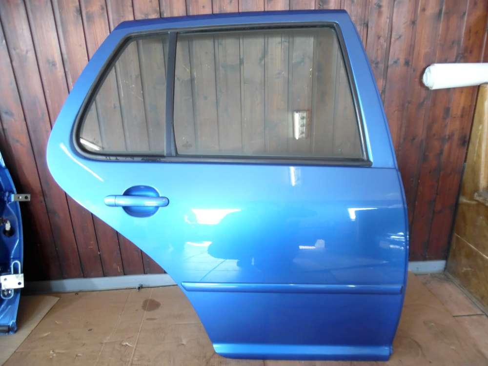 VW Golf IV 1J Tür Hinten Rechts Blau Farbcod : LW5Y