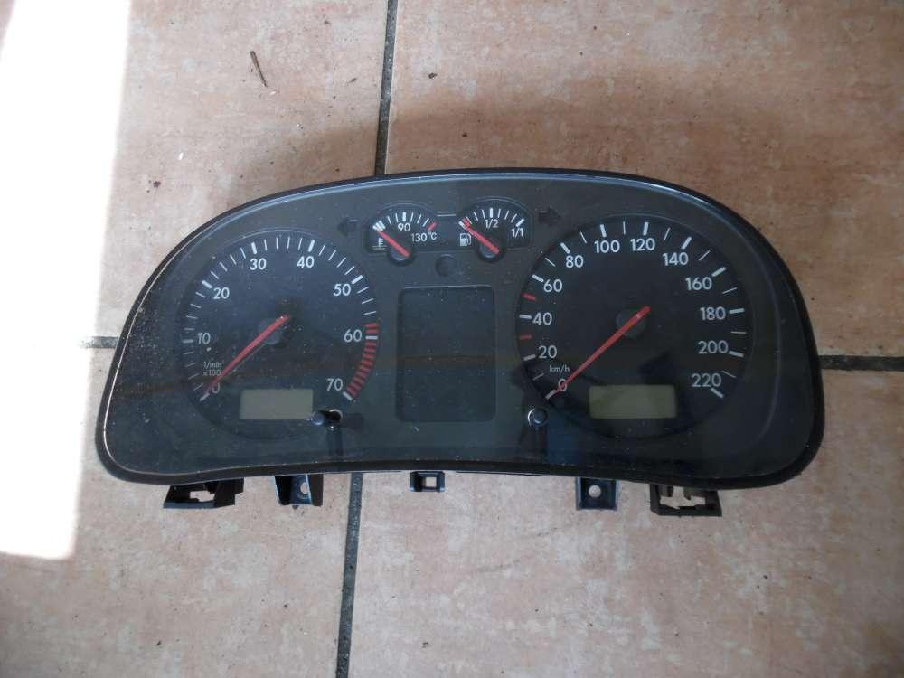 VW Golf IV 1J Kombiinstrument Tacho 166484KM 1J0920822