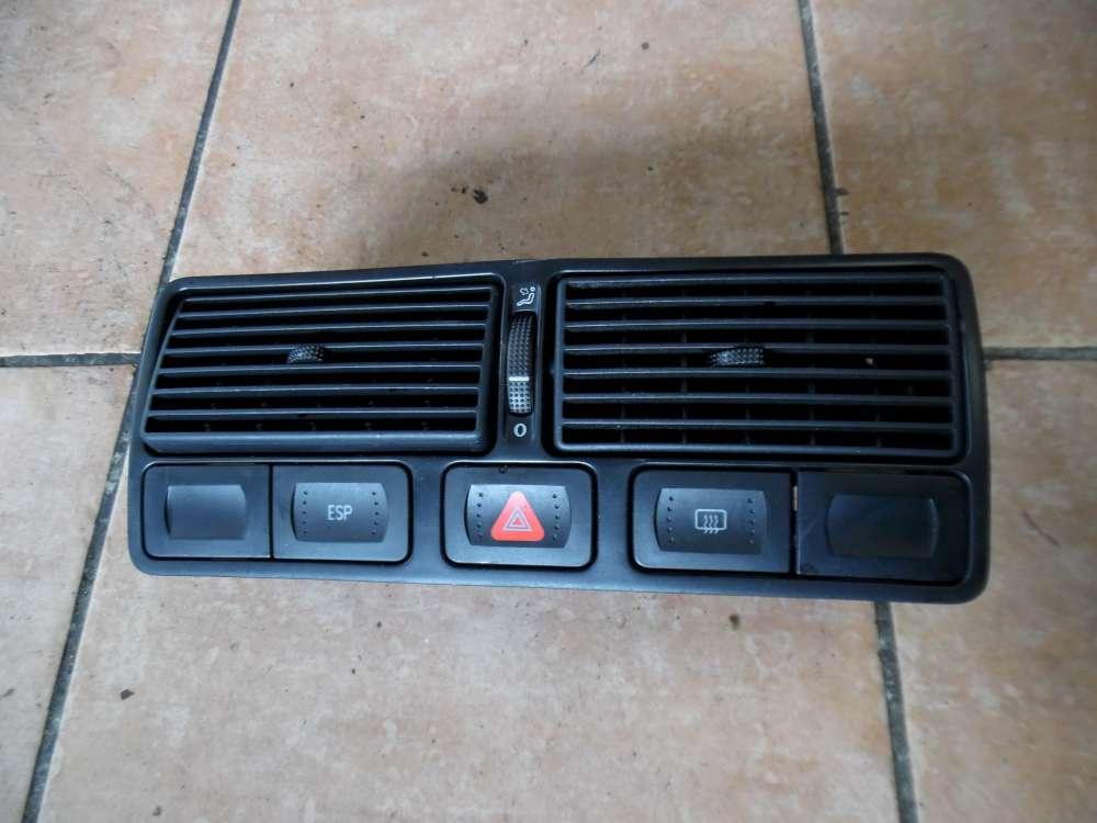 VW Golf IV 1J Schalter mit Luftdüse Mitte Armaturenbrett 1J0819728