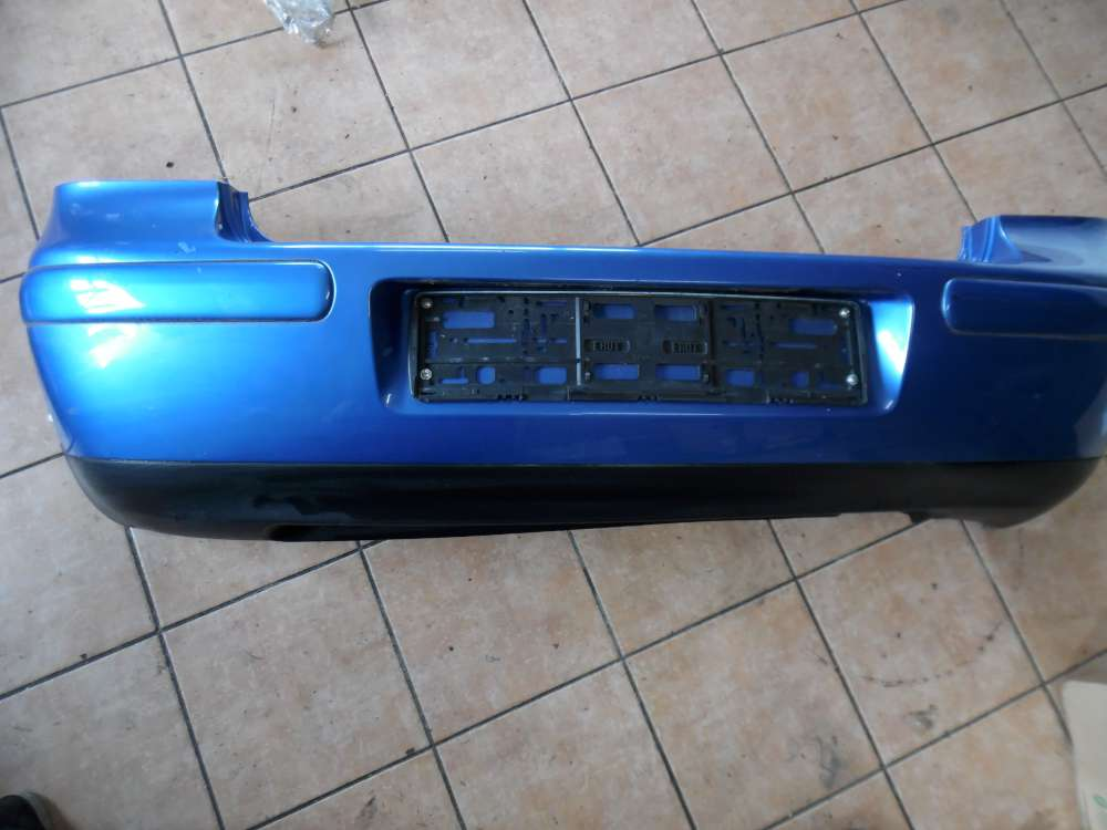 VW Golf IV 1J Stoßstange Hinten Blau Farbcod : LW5Y