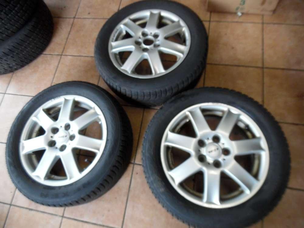 3x Alufelgen mit Reifen Winter Für Mazda 6 205/55 R16 91H  6Jx16   KBA-45833 ET 45
