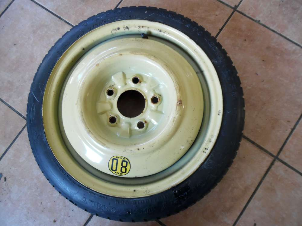 Mazda 6 Notrad Ersatzrad Toyo T115/70D15 90M 5-Loch 15X4T