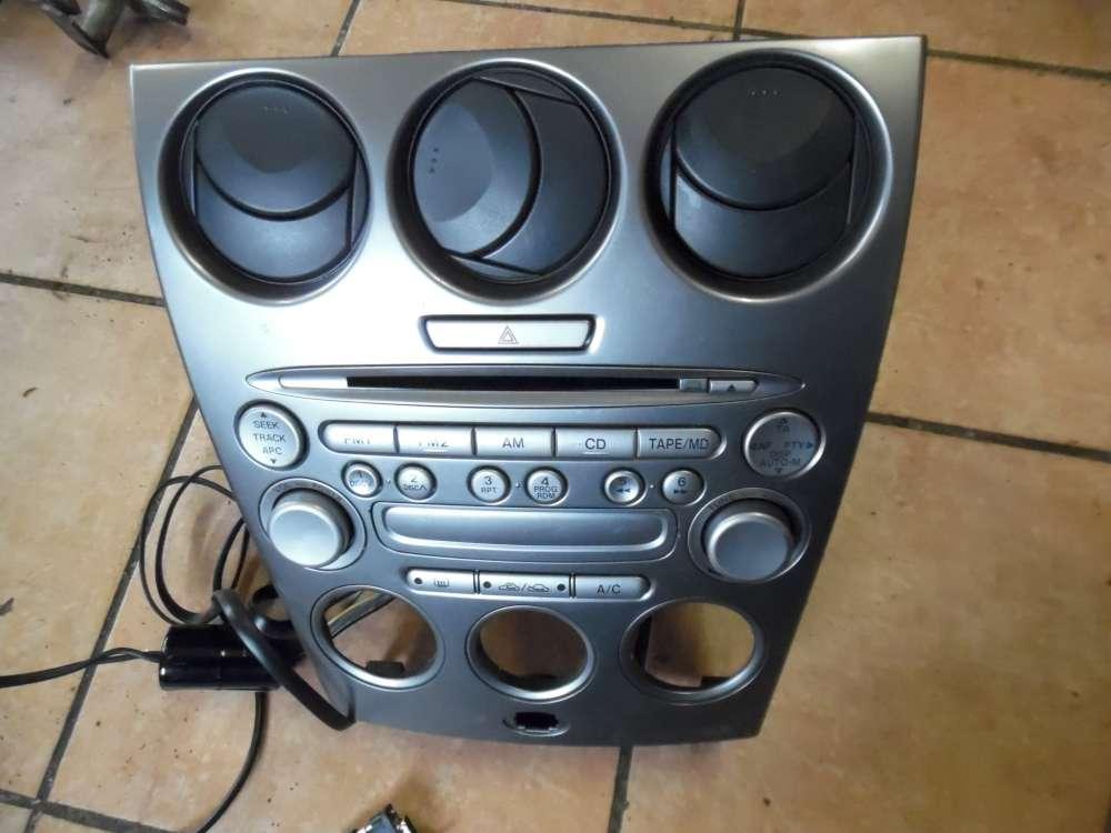 Mazda 6 Autoradio Radio Bedienschalter Lüftung Mittelkonsole GJ6R