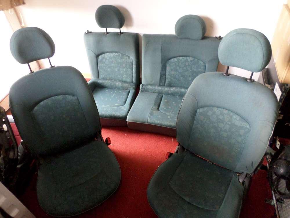 Peugeot 206 sitze Komplett Farbe: Grün ab 98-04