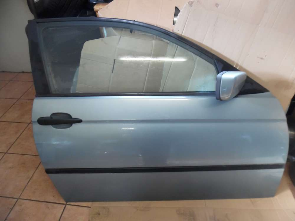BMW E46 316ti Tür Vorne Rechts Graugrün Farbcod : 442/6