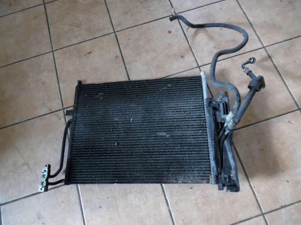 BMW E46 316ti Klimakondensator Klimakühler mit Schlauch 8377614