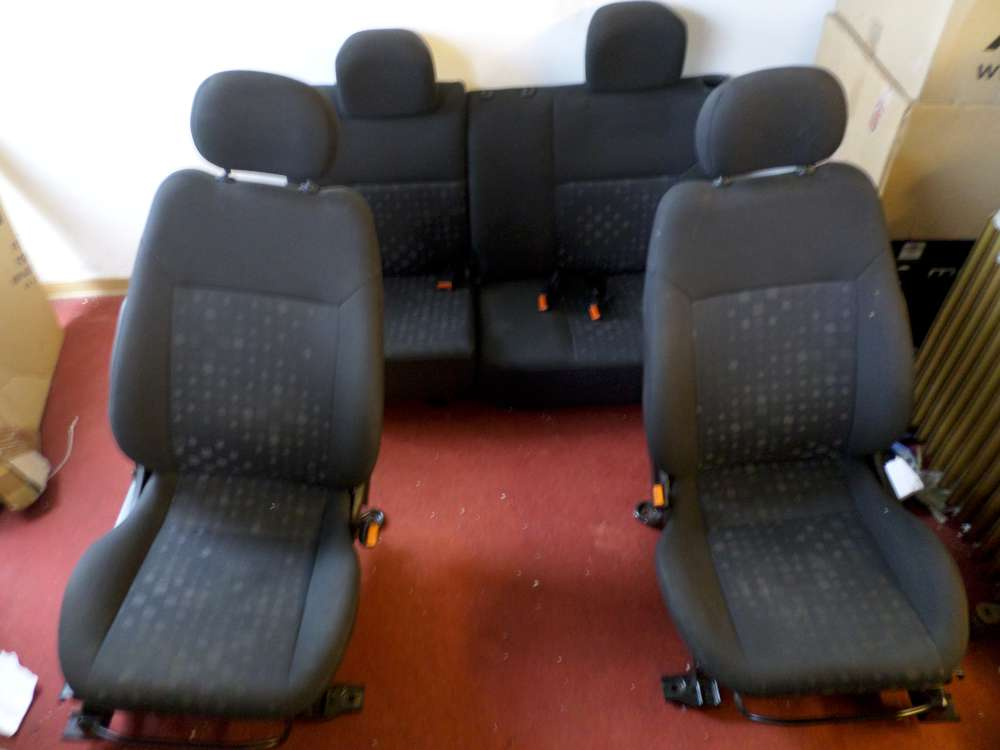 Opel Agila H00 Sitze Komplett 4/5 Türer Fahrersitz Beifahrersitz Rücksitz