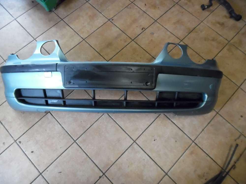 BMW E46 316ti Stoßstange Vorne Graugrün Farbcod : 442/6
