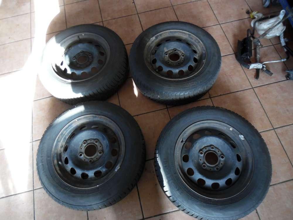 4x Stahlfelge mit Reifen Winter BMW E46  6,5Jx15 H2 Nokian 195/65 R15 91T SRD 154301 1095004