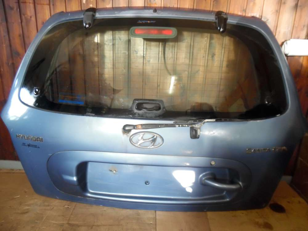 Hyundai Santa Fe SM Bj:2001 Heckklappe Blau met Farbcode : QX