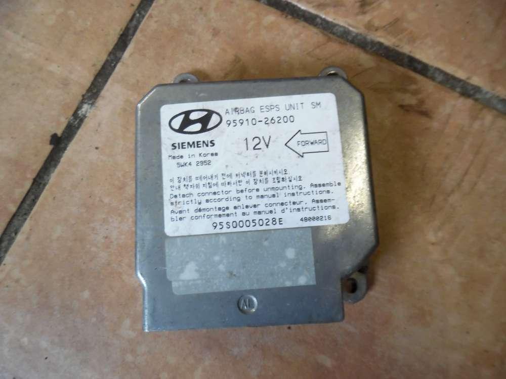 Hyundai Santa Fe Airbeg Steuergerät 95910-26200
