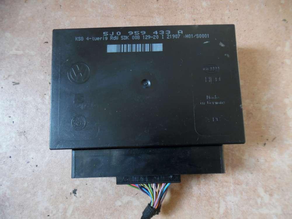 Skoda Fabia 5J 1,4TDi Komfortsteuergerät Steuergerät 5J0959433A