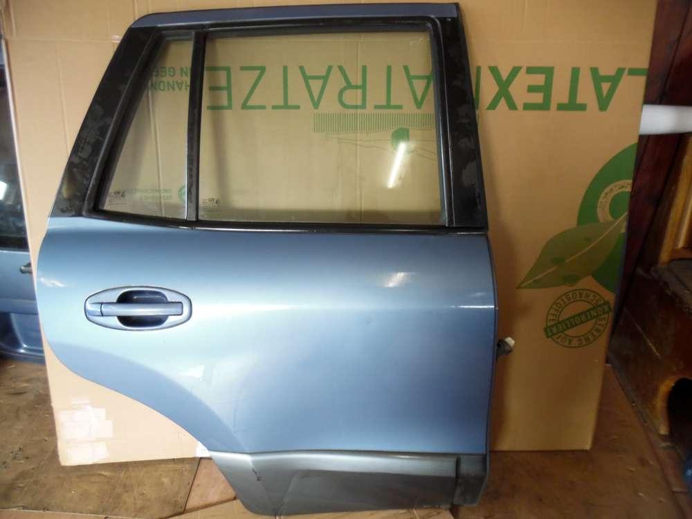 Hyundai Santa Fe Tür Hinten Rechts Blau met Farbcode : QX