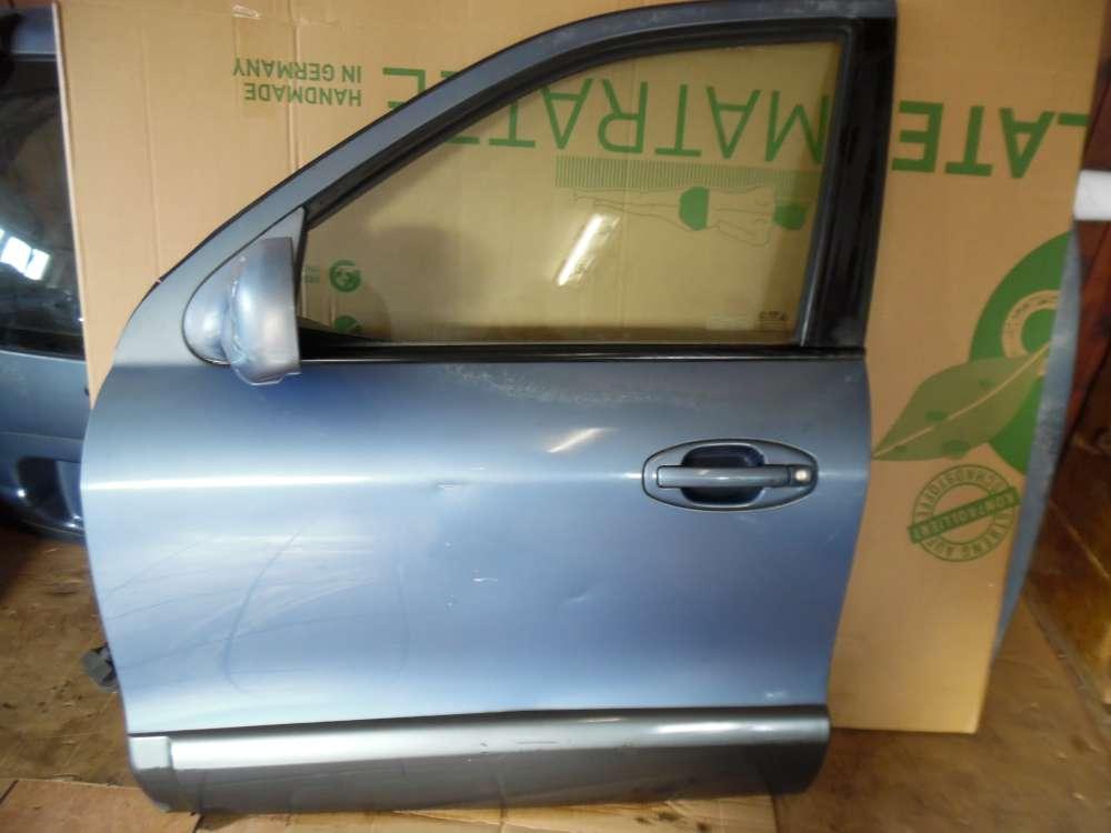 Hyundai Santa Fe Tür Vorne Links Blau met Farbcode : QX