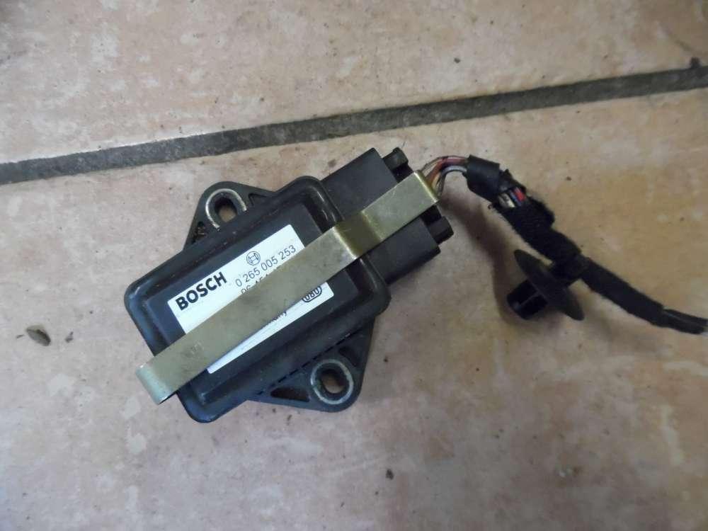 Peugeot 307 ESP Sensor Drehratensensor 9645447780 Bosch 0265005253