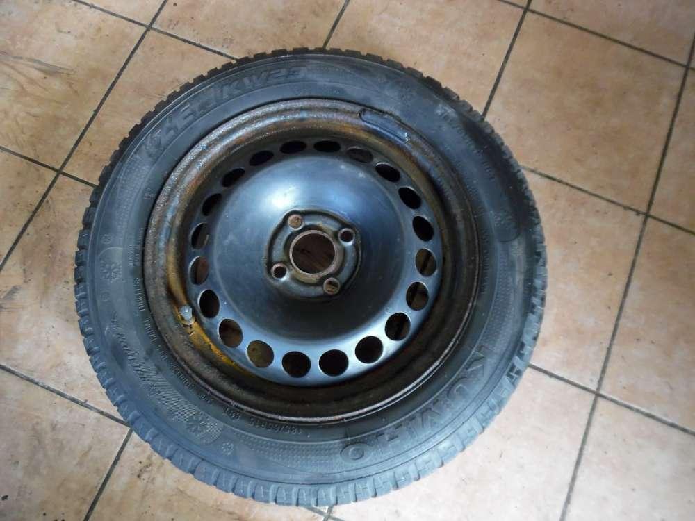 Stahlfelge mit Winterreifen für Fiat Grande Punto 185/65R 15 88T Kumho 6X15 H2 ET 43  KBA 46472