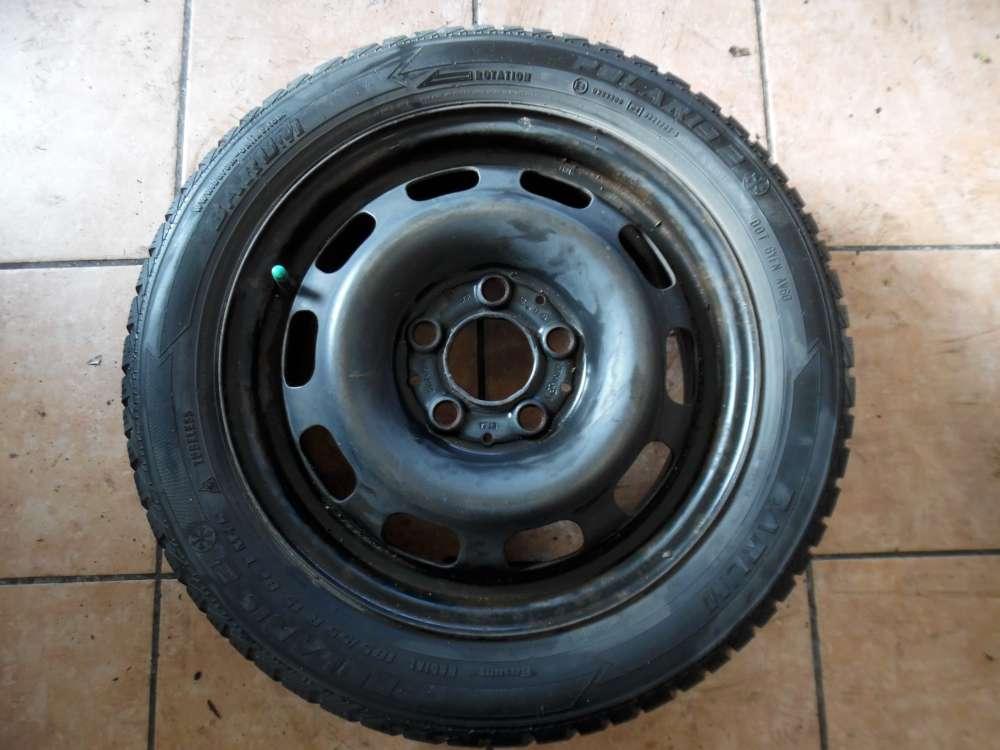 Stahlfelge mit Winterreifen für Mercedes A-Klasse 1684000702 185/55R15 82T Barum Polaris 2 5,5jX15 H2 ET 54