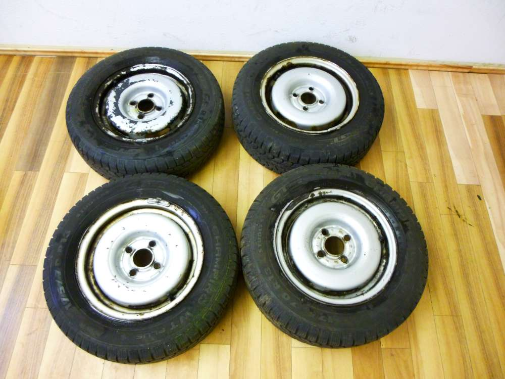 4x Winterreifen Stahlfelgen für VW Golf 2 Jetta, Scirocco 175/70 R13 82T  5,5Jx13H2  ET38  M+S