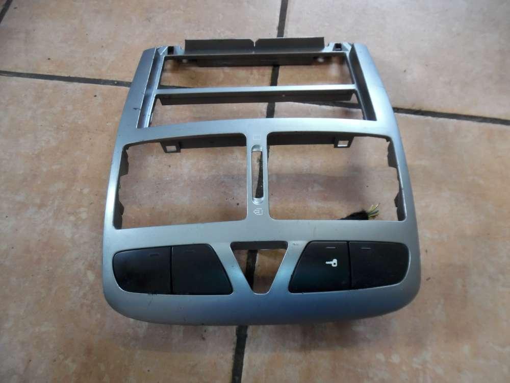 Peugeot 307 Verkleidung Mittelkonsole Vorne 9634505077