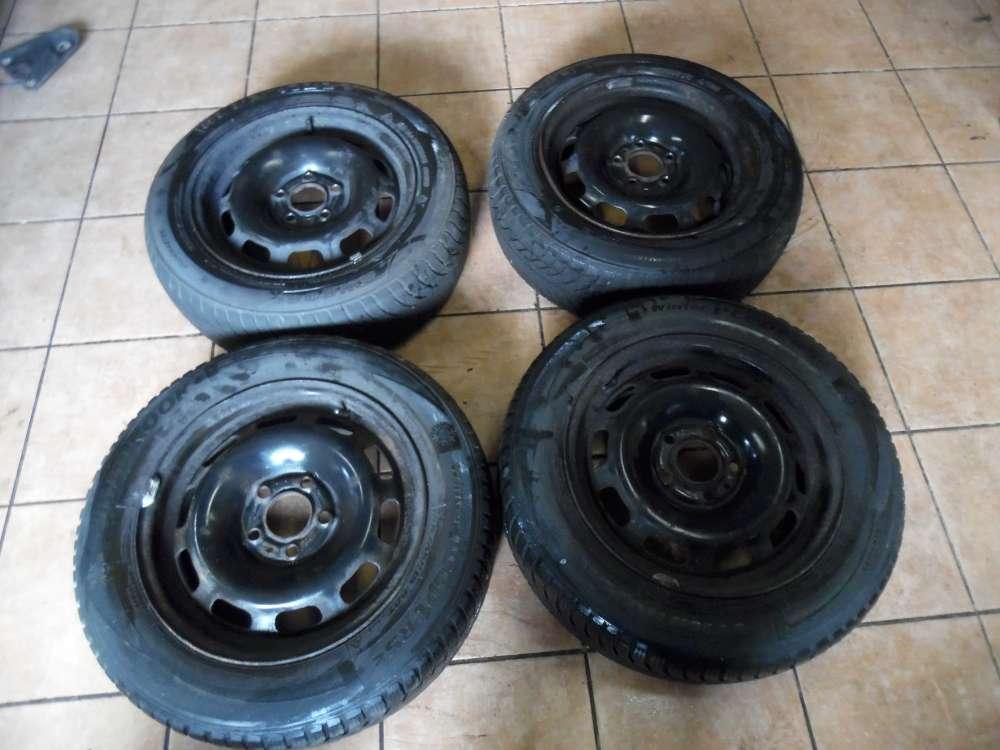 4x Stahlfelge mit Winterreifen Volvo 850 185/55R 15 88T 2x Hankook 1x Goodride SW608 6Jx15 ET43  2150509