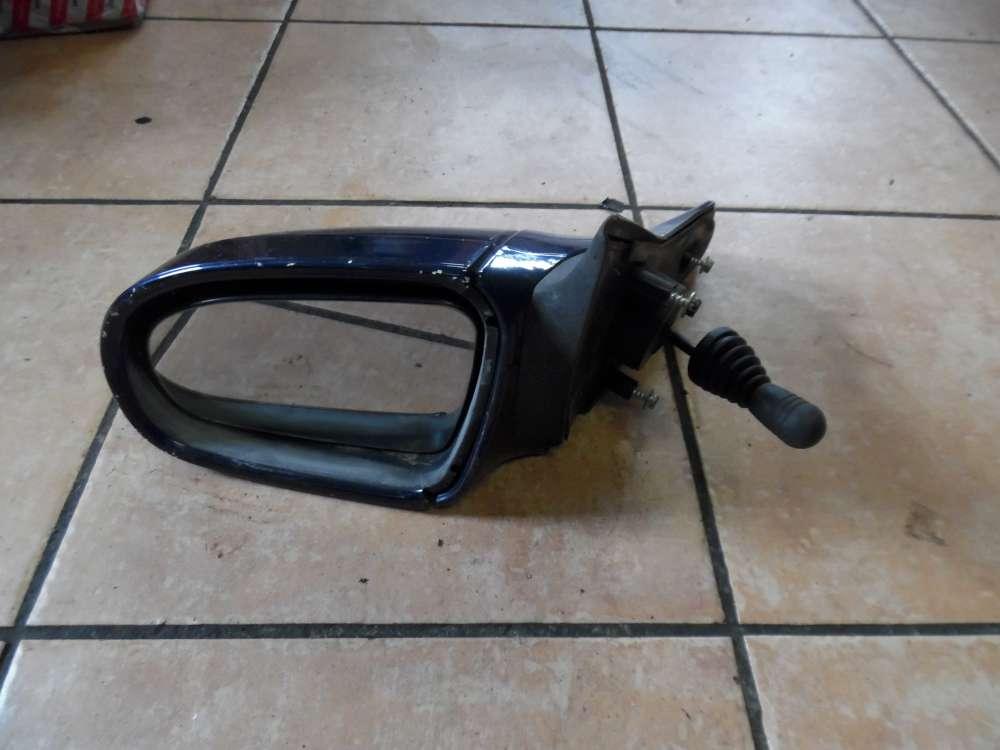Opel Corsa B Außenspiegel manuell Links Dunkelblau 008062349