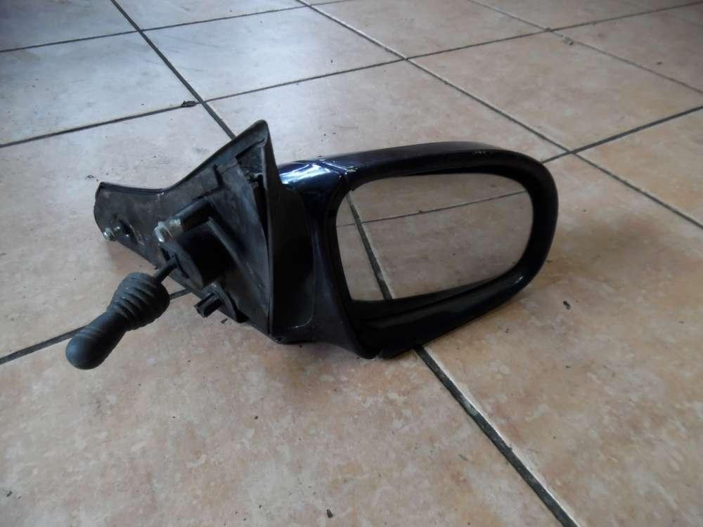 Opel Corsa B Außenspiegel manuell Rechts Dunkelblau 008062349