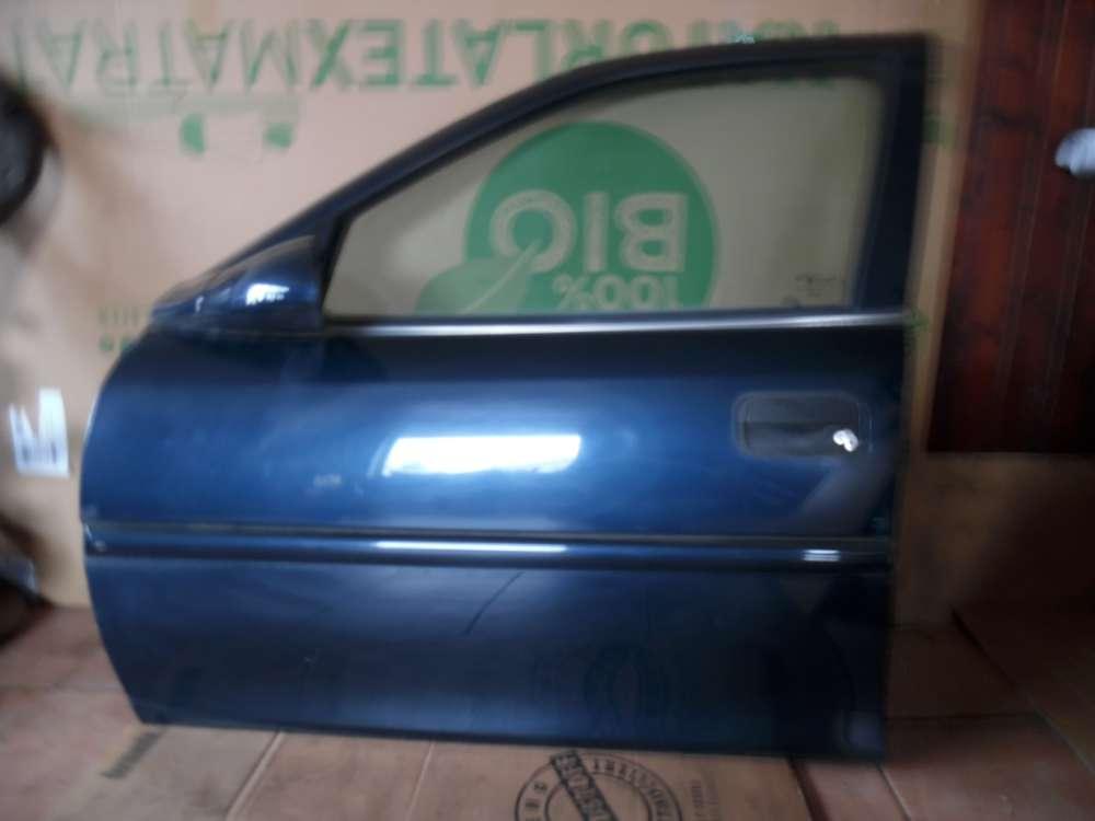 Opel Vectra B Limousine Tür Vorne Links dunkelblau Farbcode : Z20H