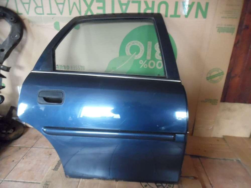 Opel Vectra B Limousine Tür Hinten Rechts dunkelblau Farbcode : Z20H