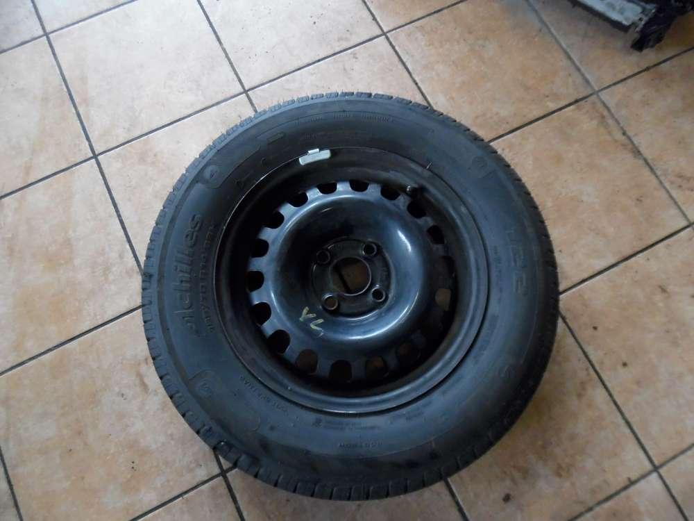 1x Stahlfelge mit Winterreifen Opel 185/70R14 88H Achilles 5,5Jx14H2 ET39
