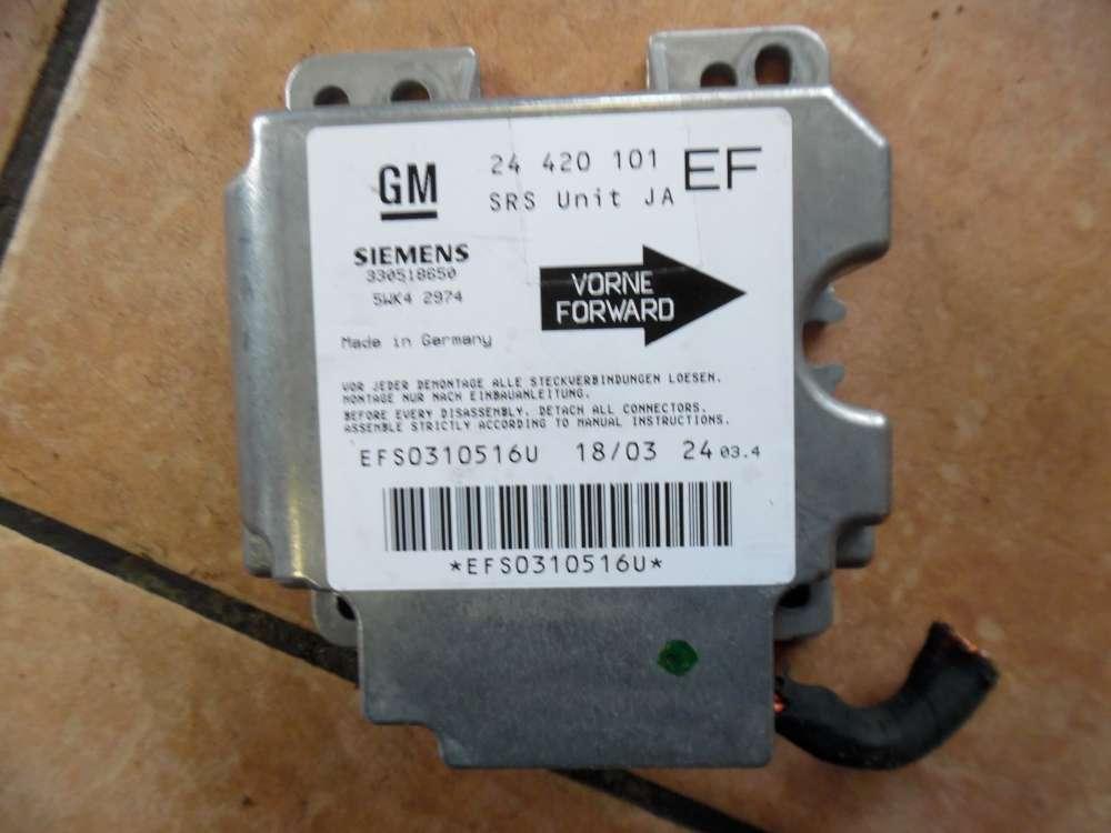 Opel Omega B Airbagsteuergerät 24420101EF
